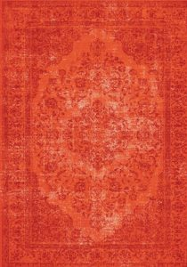 3_Vloerkleed Oriental Royal Red bij GPdecor
